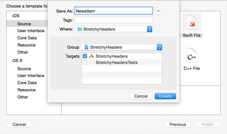 Design Teardown: Stretchy Headers
